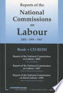 Reports of the National Commission on Labour  2002 1991 1967