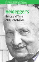 download ebook heidegger's being and time pdf epub