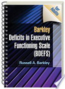 Barkley Deficits In Executive Functioning Scale Bdefs