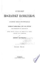 Svenskt biografiskt handlexicon