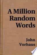 a million random words