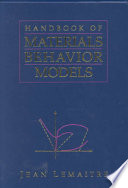 Handbook of Materials Behavior Models