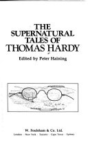 The supernatural tales of Thomas Hardy