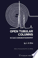Open Tubular Columns in Gas Chromatography