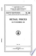 Retail Prices  1913 to December 1920