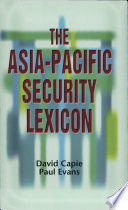 The Asia Pacific Security Lexicon
