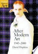 After Modern Art 1945-2000