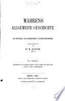 M  hrens allgemeine Geschichte  M  hres Kulturzust  nde vom Jahre 1197 bis 1306