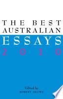 The Best Australian Essays 2010