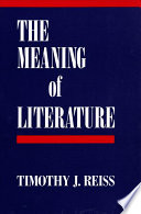 The Meaning of Literature