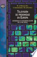 Televisi  n de proximidad en Europa