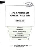 Iowa Criminal and Juvenile Justice Plan