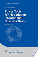 Power Tools for Negotiating International Business Deals