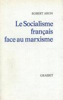 Le socialisme français face au marxisme