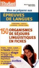 Bien se pr  parer aux   preuves de langues