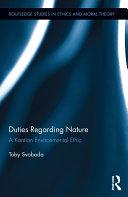 Duties Regarding Nature