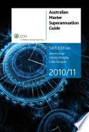 Australian Master Superannuation Guide 2010/11