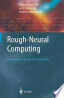 Rough Neural Computing