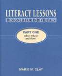 Literacy Lessons: Designed for Individuals: Part One - Why? When? and How?