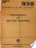 Confinement Of Military Prisoners