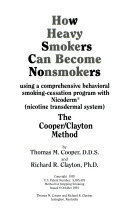 How Heavy Smokers Can Become Nonsmokers