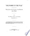 Our Women in the War   Book PDF