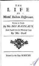 The Works of Monsieur Boileau