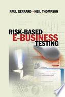 Risk Based E Business Testing