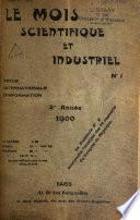 Le mois scientifique et industriel