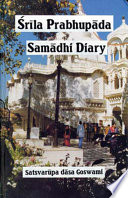 download ebook srila prabhupada samadhi diary pdf epub