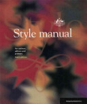 Style Manual for Authors  Editors and Printers
