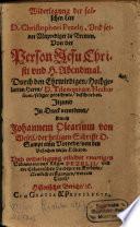 Widerlegung der falschen Lere D. Christophori Pezelij, Vnd seiner Mitprediger zu Bremen