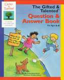 The Gifted   Talented Question   Answer Book for Ages 6 8
