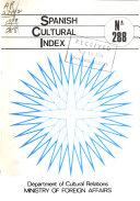 Spanish Cultural Index