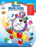 More Minute Math Drills Grades 3 6 book