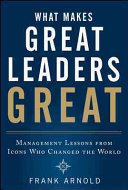 What Makes Great Leaders Great  Management Lessons from Icons Who Changed the World