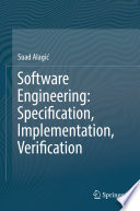Software Engineering Specification Implementation Verification