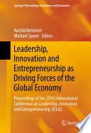 Leadership  Innovation and Entrepreneurship as Driving Forces of the Global Economy