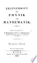 Zeitschrift f  r Physik und Mathematik