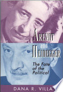 Arendt and Heidegger