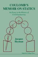 Coulomb's Memoir on Statics
