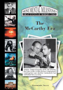 Ebook The McCarthy Era Epub Kathleen Tracy Apps Read Mobile
