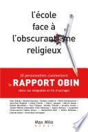 illustration du livre L'école face à l'obscurantisme religieux : Le rapport OBIN