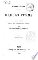 Mari et femme roman anglais Wilkie Collins