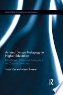 Art and Design Pedagogy in Higher Education