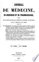 Journal de m  decine  de chirurgie et de pharmacologie