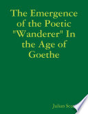 The Emergence of the Poetic