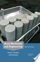 Rock Mechanics and Engineering Volume 2