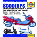Scooters Automatic Transmission 50 To 250cc Two Wheel Carbureted Models