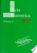 Acta Numerica 1997: : and scientific computing....